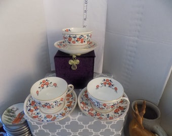Antique Stoke on Trent England cup and saucer set.