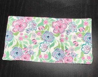 Burp Cloth - Flowers