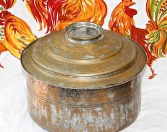 Copper Stock Pot Etsy