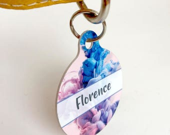 Contemporary Elegance Pet ID Name Tag