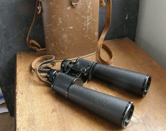 vintage german lieberman and gortz binoculars ,large size,with case,steam punk,  great condition,  , Free uk postage