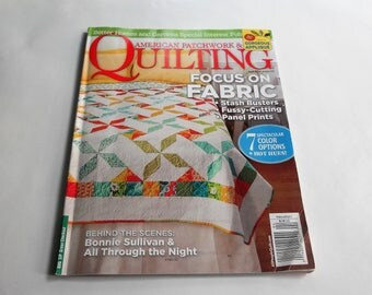 American Patchwork & Quilting Magazine April 2014
