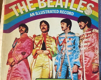 1975 The Beatles: An Illustrated Record by Roy Carr, Tony Tyler Vintage Rock n Roll Book