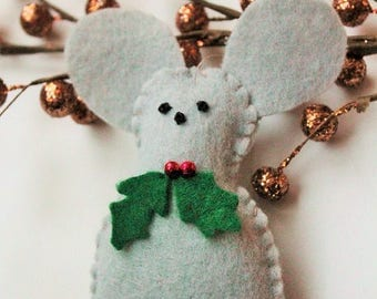 Mouse ornament  Etsy