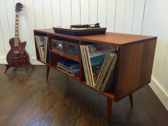 Small Mid Century Console Table