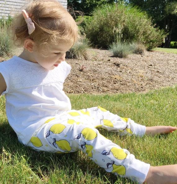 Handmade Hipster Baby Leggings | Baby Harem Pants | Baby Harems | Baby Boy Pants | Baby girl Pants | Lemon Leggings Pants