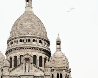 Paris art, picture of Paris, Sacré-Cœur Basilica, wall art, French decor, architecture, Paris photograph, Paris decor - Montmartre