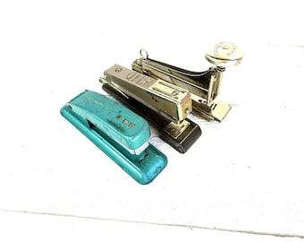 Vintage Swingline Cub Markwell RX 45 Apsco Metal Stapler