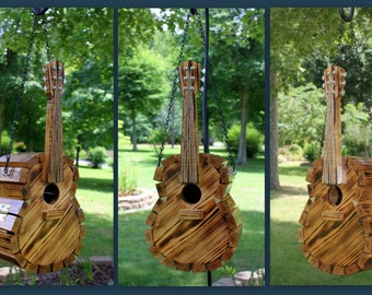 Guitar Birdhouse