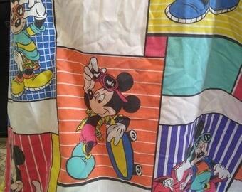 Disney Mickey Mouse Flat Twin Sheet