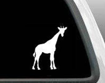 Giraffe Decal Sticker Car Water Bottle Vinyl Decals