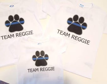 Team Reggie shirts/2 pack