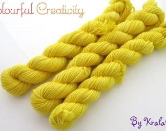 Hello Yellow -  Colourful Smooth Sock Kitten