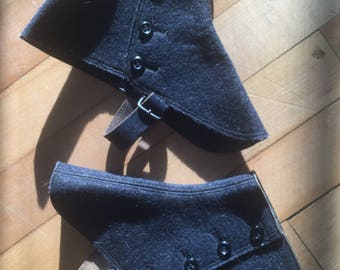 Vintage Boot Spats Early Antique Shoe Covers