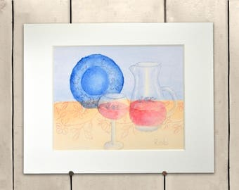 """Still Life Giclee Print 14x11"""" 100% of the profits go directly to artists with disabilities Item 201 Rob N."""