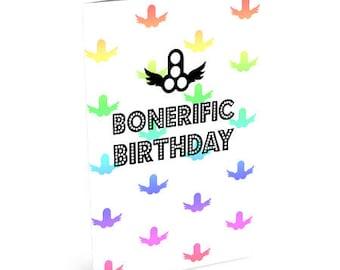 Bonerific Birthday Card