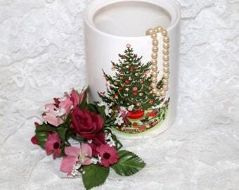 Pfaltzgraff Christmas Heritage ALL Original - Utensil Holder - Barely Used