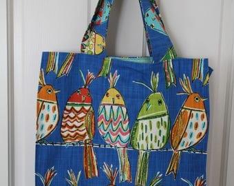 Bird Reusable shopping bag
