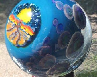 Tree of Life Murrine/ Dichroic Galaxy Marble