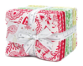 Free Shipping North Woods fat quarter bundle by Kate Spain for Moda fabric