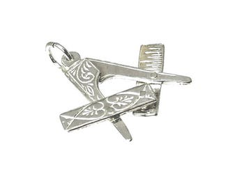 Sterling Silver Opening Masonic Charm For Bracelets