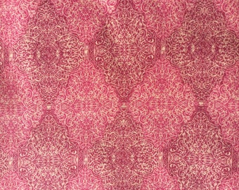 Philip Clay red - Liberty Tana Lawn fabric