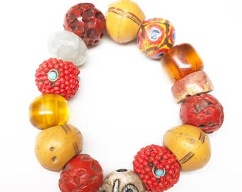 Multi gemstone bracelet / jewelry by Yoyo Lazarus