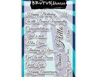 Brutus Monroe - Sharon's Script Stamp