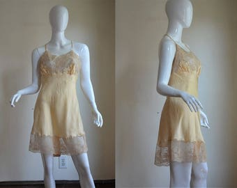 "Exquisite 1940s NOS NWT Silk & Lace I Magnin Teddy Step In 40"" Bust"