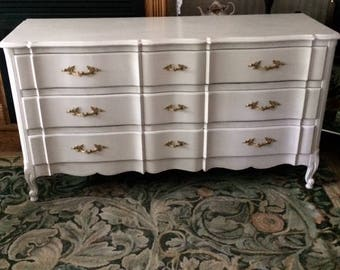 Paris Apartment French Provincial Dresser /Chest / Bureau / Buffet / Sideboard