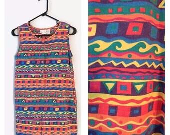 ON SALE Vintage 90s Jumper romper shorts outfit size XL stripes