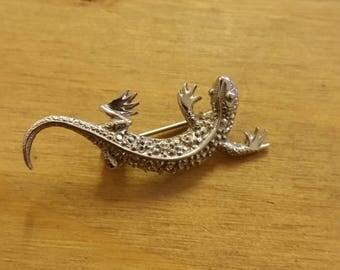 Small Lizard Gecko Brooch