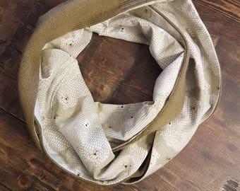Cashmere Silk Bear Infinity Scarf