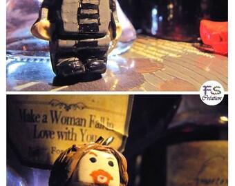 Door keys Lego Sirius Black, HP.