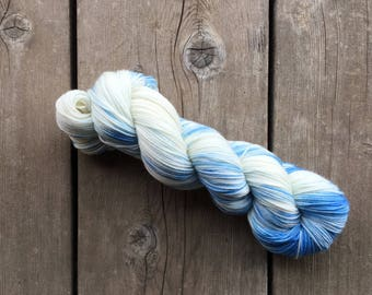 Hand-dyed Yarn - Clouds Colorway - Hand-painted Yarn - Merino Wool Yarn - Indie-dyed Yarn