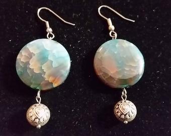 FREE U.S. SHIPPING--Beautiful Stone Earrings