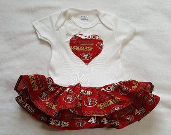 Baby sports ruffles