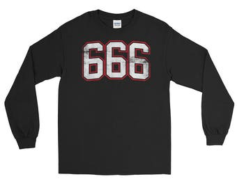 666 The Number of The Beast Long Sleeve T-Shirt
