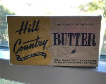 Hill Country Butter box