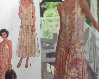 Vintage Pattern: 1980's (1920's Style) by STYLE 2470 Size 6-16