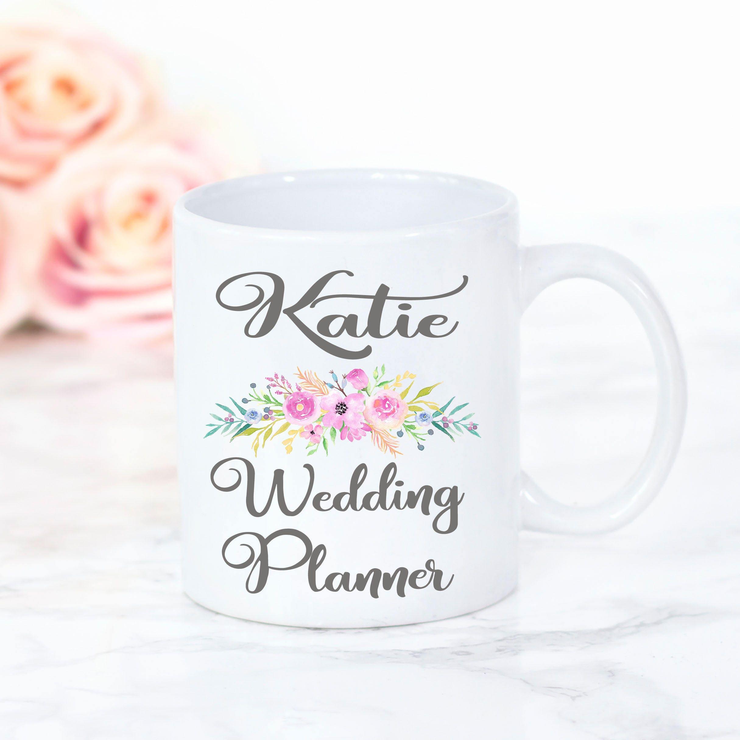 Personalised Wedding Planner Mug Bridal Gifts Wedding Gift