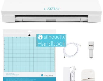 SALE Silhouette V3 Cameo with NEW Silhouette HANDBOOK digital ebook instructional Guide