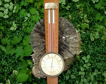 Vintage Airguide Indoor/Outdoor Thermometer/Barometer