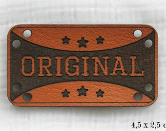 ORIGINAL leather tag