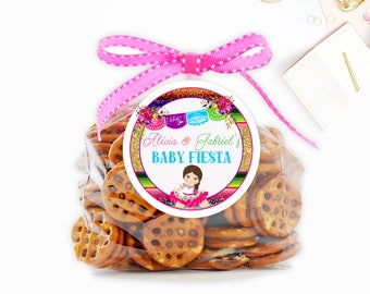 Mexican Fiesta Baby Shower Tag, Fiesta Tag, Mexican Baby Shower tags, Fiesta Party Tags, Senorita favor tags