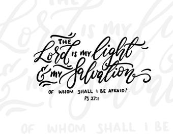 The Lord is my Light & Salvation DIGITAL download