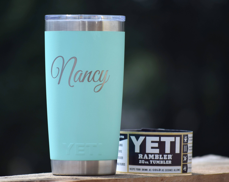 Authentic Engraved Yeti Rambler Tumblers Personalized Yeti