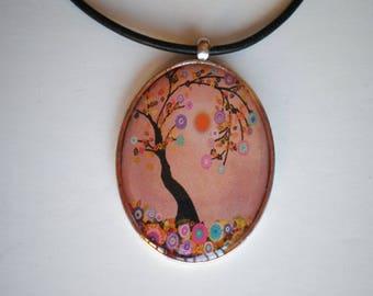 Tree of life pendant - Resin pendant - Art pendant - Art jewelry - Resin pendant - Gift for her - Tree of life