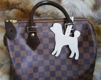 Poddle bag charm