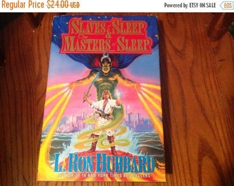 Winter Sale Slaves & Sleep The Masters of Sleep Book By L Ron Hubbard Fantasy Novel